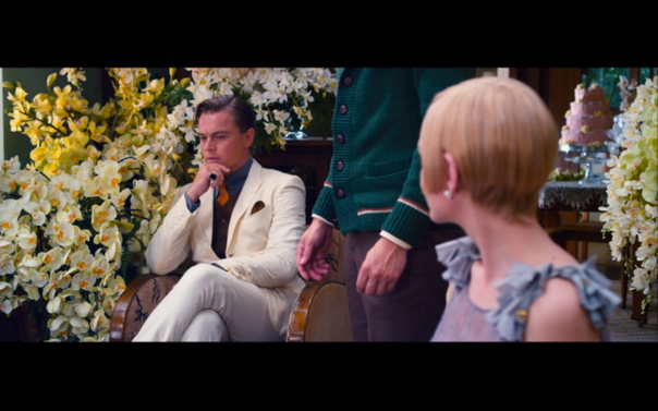 The first meeting of Gatsby and Daisy