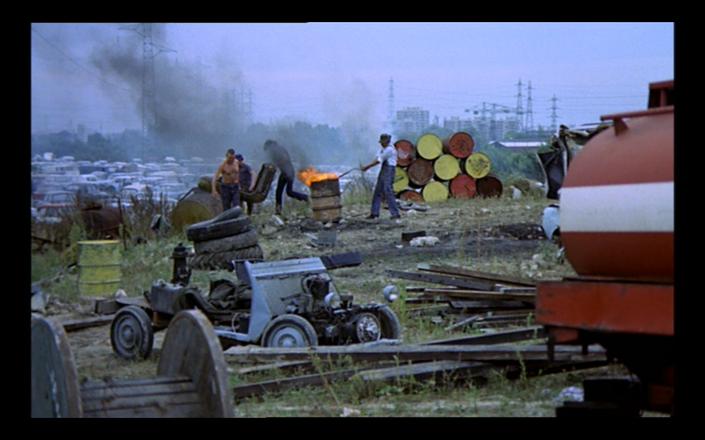 The junk men scrapping metal in Eastmancolor