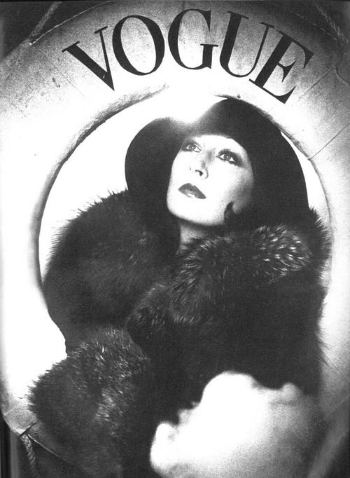 Huston By David Bailey for Vogue 1973