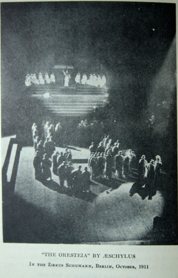 Reinhardt stages Greek Tragedy in a Circus, 1911