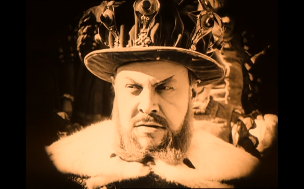 Jannings is both hammy AND great as Henry VIII.