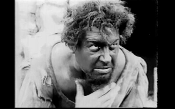 Emil Jannings in blackface as Radu