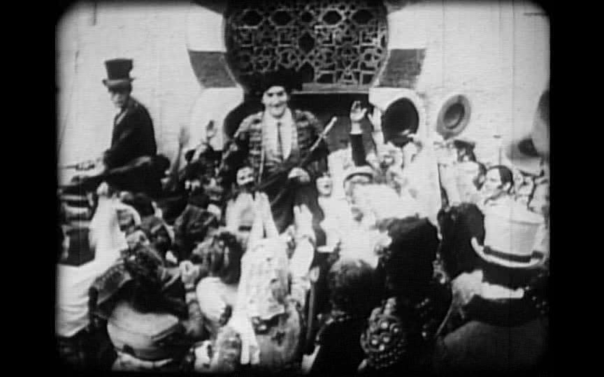 Escamillo at the bullfights.