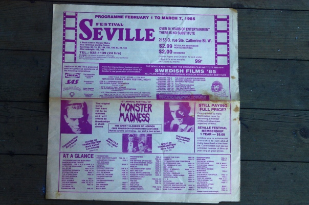 In repertory at The Seville