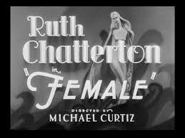 ruth chatterton female