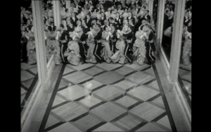 Figure 2: Classic imagery from celebrated waltz sequence.