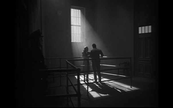 Iconic noir imagery