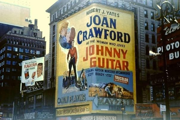 fabulous JOhnny Guitar poster