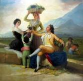 A Goya tapestry