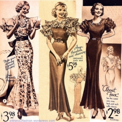 three-dresses-from-sears-catalogs-1933-1934