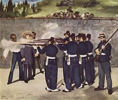 manet's execution of the emperor maximilan